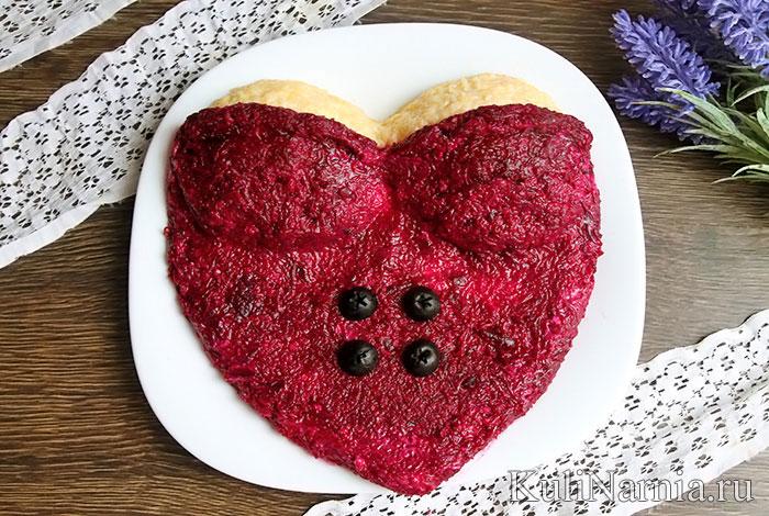 Салат Любовница рецепт с фото пошагово