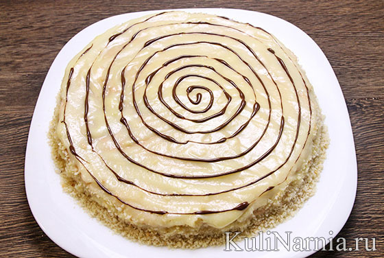 Торт Эстерхази рецепт классический
