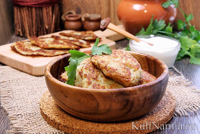 рецепт приготовления без яиц картофельных котлет
