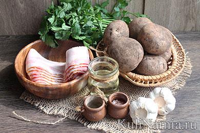 Картошка-гармошка рецепт