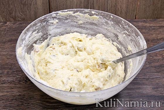 Кекс Столичный рецепт с изюмом