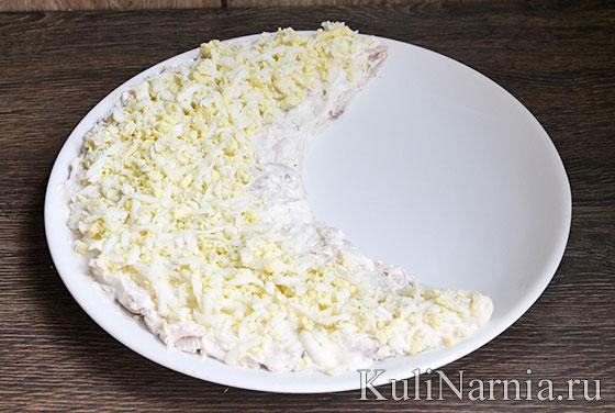 Салат Арбузная долька рецепт с фото пошагово