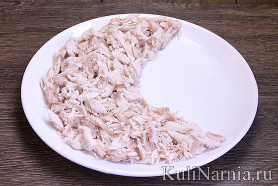 Салат Долька арбуза рецепт