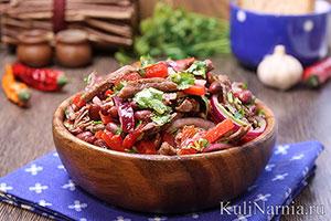 Салат Тбилиси рецепт с фото пошагово