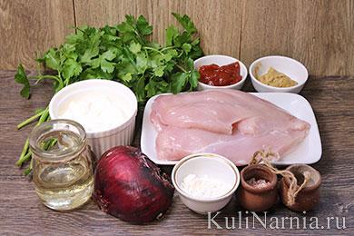 Курица по строгановски рецепт