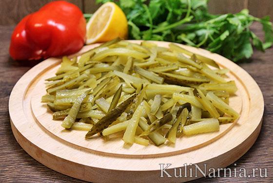 Пражский салат с болгарским перцем