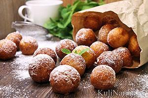 Творожные пончики рецепт с фото пошагово