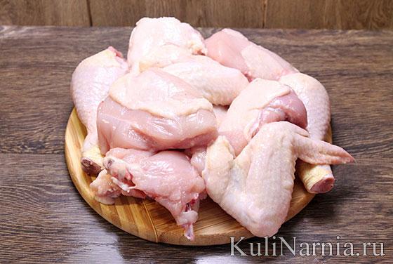 Чахохбили из курицы рецепт