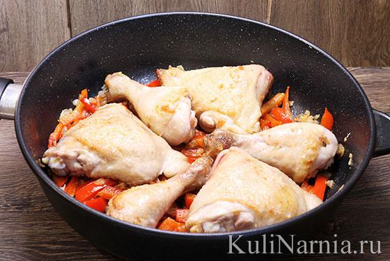 Паприкаш из курицы рецепт с фото