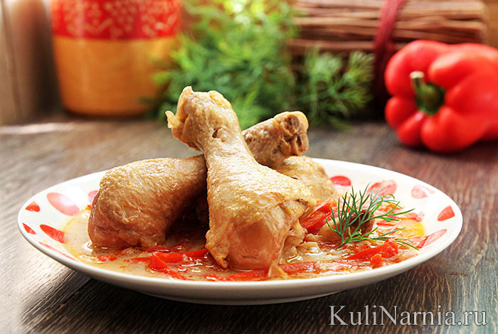 Паприкаш из курицы рецепт