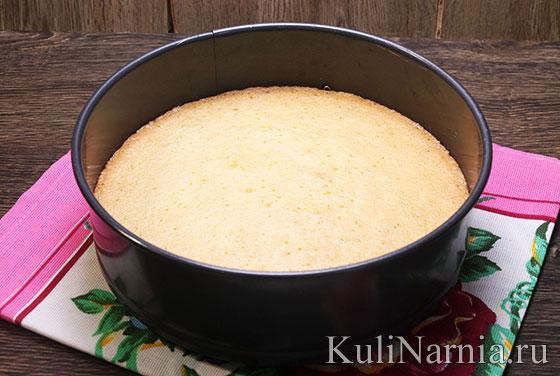 Бисквит для торта Битое стекло