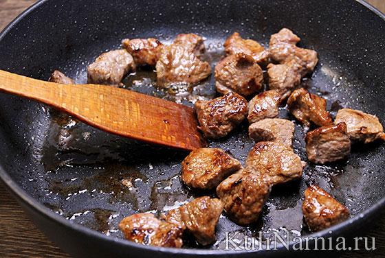 Чанахи с говядиной рецепт