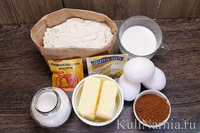 Кекс Мраморный ингредиенты