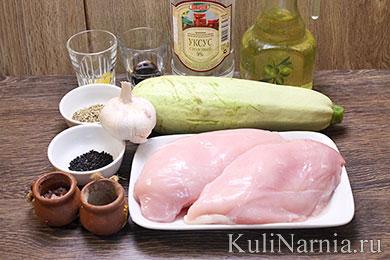 Куриный шашлык в духовке состав