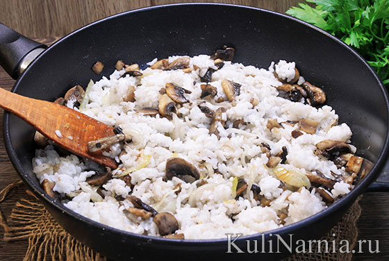 Курица фаршированная рисом рецепт