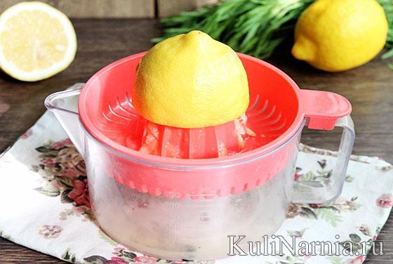Лимонад тархун рецепт