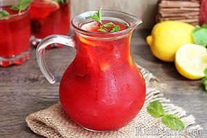 Малиновый лимонад рецепт