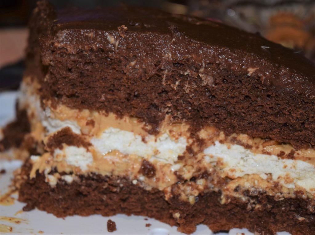 Сникерс торт в домашних условиях 734