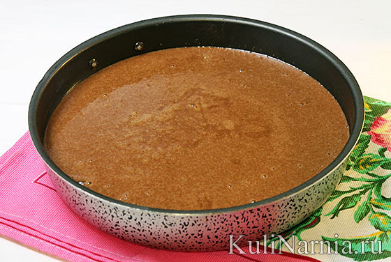 Бисквитный торт Сникерс рецепт с фото