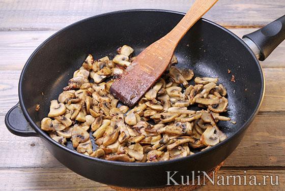 Как приготовить фетучини с грибами