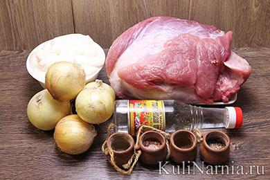 Классический шашлык из свинины рецепт