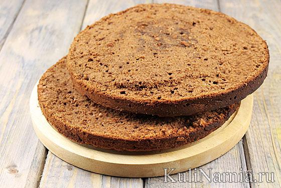 Бисквит для торта Захер