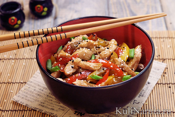 Курица в кисло-сладком соусе (рецепт по-китайски)
