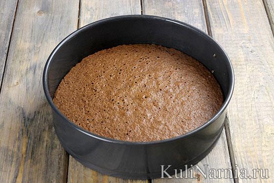 Бисквит для муссового торта