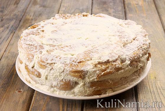 Торт дамские пальчики пошаговый рецепт