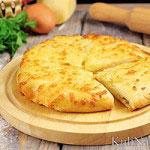 Хачапури с сыром по-мегрельски
