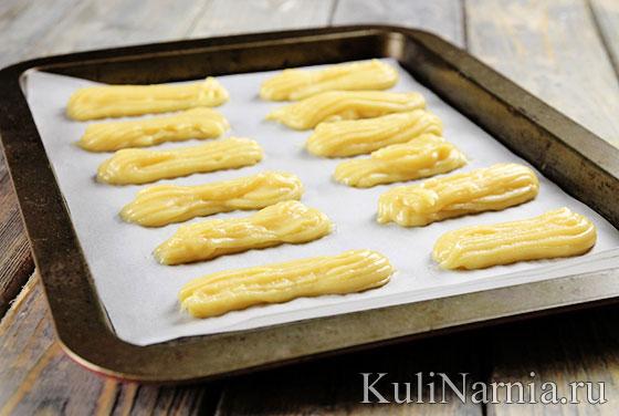 Дамские пальчики торт рецепт
