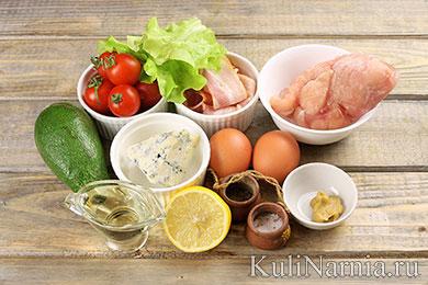 Кобб салат рецепт с фото