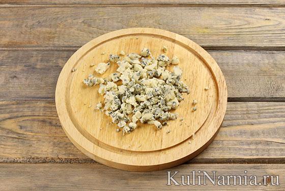 Кобб салат с сыром