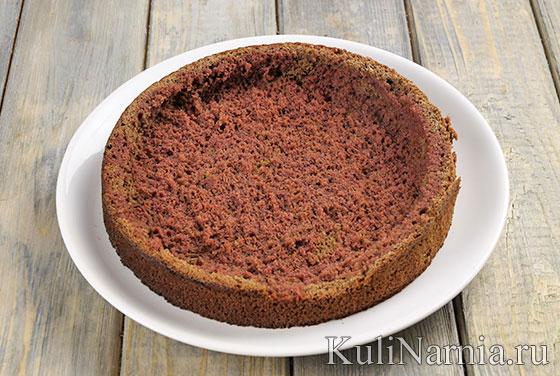 Рецепт торта Пьяная вишня с фото