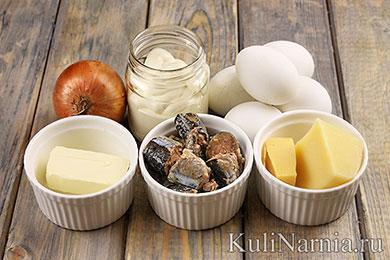 Салат Мимоза рецепт с фото