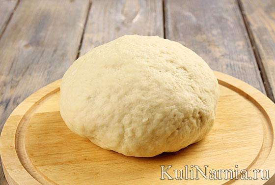 Тесто для хачапури по-мегрельски