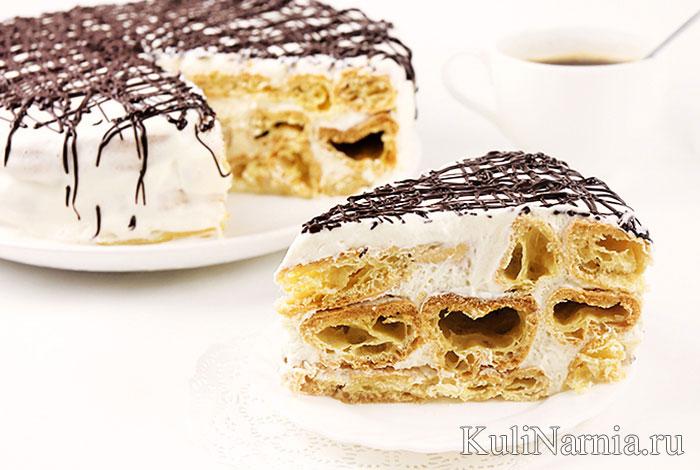 Торт Дамские пальчики пошаговый рецепт с фото