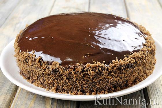 Торт Пьяная вишня с фото