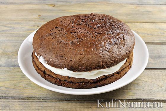 Черный лес торт рецепт