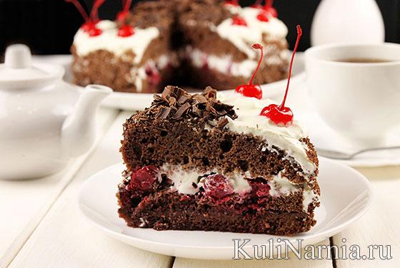 Черный лес торт