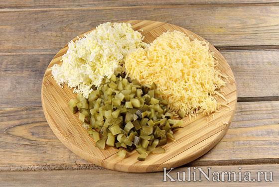 Как готовить салат Петух