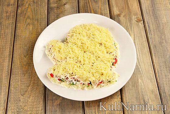 Как готовить салат Варежка