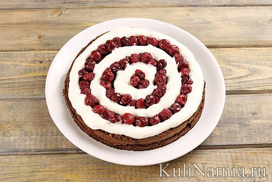 Как приготовить торт Черный лес