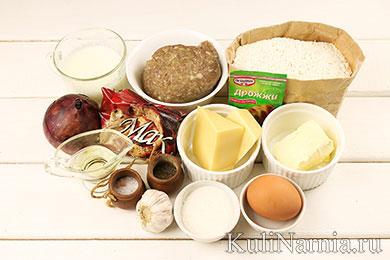 Пирог Подсолнух рецепт с фото