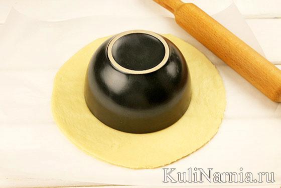Рецепт пирога Подсолнух с фото