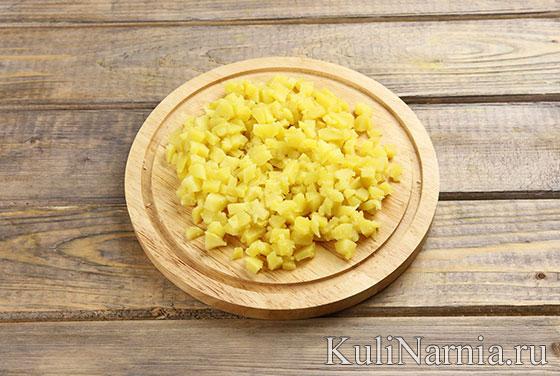 Рецепт салата Елочные шары
