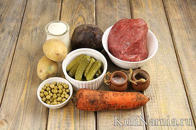 Салат Маска рецепт с фото