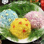 Салат «Елочные шары»