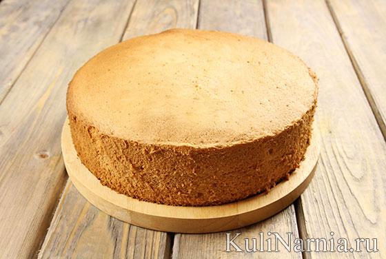 Бисквит для торта Петух