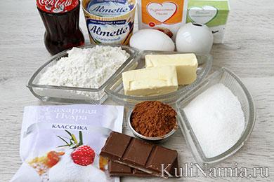 Капкейки на Кока-коле рецепт с фото